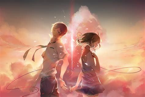 Anime Your Name Kimi No Na Wa Link 2016 Random Thoughts Kimi No Na Wa Your Name Image 2041039 Zerochan