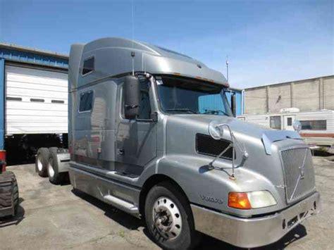 commercial volvo trucks for volvo 770 2000 sleeper semi trucks