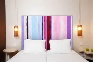 Tete De Lit Tissu : tete de lit en tissu ~ Premium-room.com Idées de Décoration