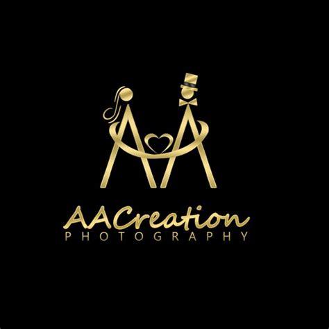 wedding photography company logo step  logo design