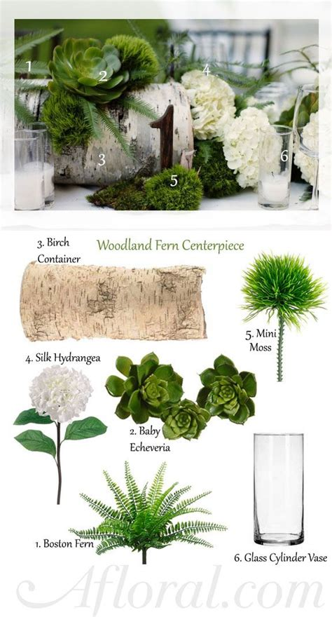 I Like The Idea Of Using A Log As A Centerpiece With
