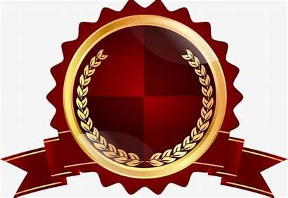 Badge Ribbon Clipart Brown Transparent Pita Award