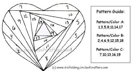kreative kookiez crafts iris fold valentine
