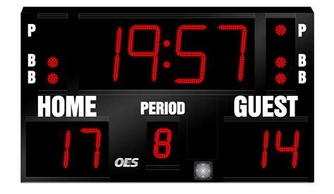 Basketball Scoreboard  5240  Oes Scoreboards