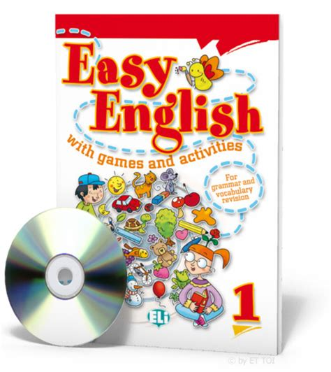 easy english  games  activities  cd audio