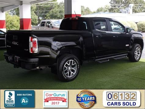 gtgbef  gmc canyon wd sle crew cab long