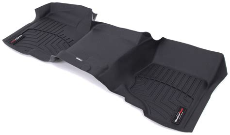 weathertech floor mats gmc weathertech floor mats for gmc sierra 2010 wt442941