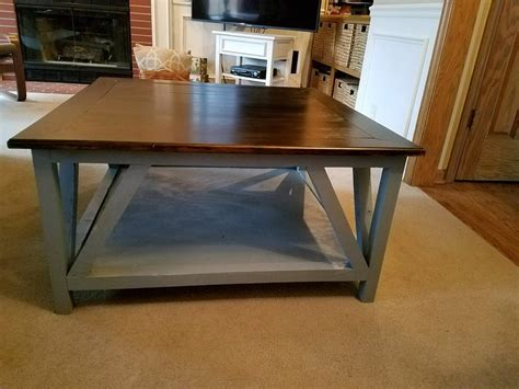 Not only do they add to the ambiance and atmosphere of the place but they are also very important as people need to put their drinks in certain places. Modern Farmhouse Square Coffee Table - buildsomething.com