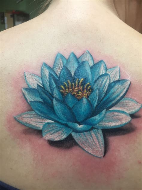 lotus flower tattoo realistic  lotus tattoo
