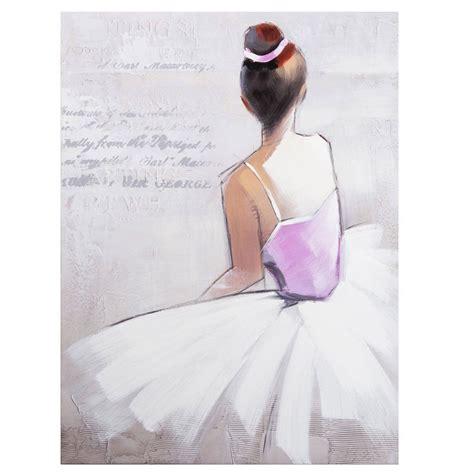 tableau danseuse maisons du monde decoration dessin danseuse ballerine danseuse danseuse