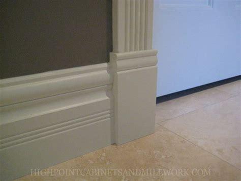 baseboards  plinth blocks diy pinterest