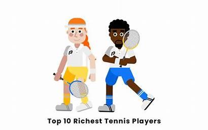 Players Richest Tennis