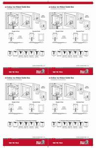 Sioux Chief Oxbox Ice Maker Outlet Box User Manual