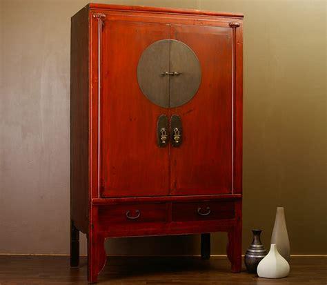 China Mobel by Antiker Chinesischer Schrank Hochzeitsschrank China Rot
