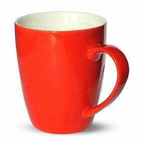 Tasse à Thé : tasse becher kaffeebecher rot 1 stk 10cm 350ml porzellan b ware kaufen matches21 ~ Teatrodelosmanantiales.com Idées de Décoration