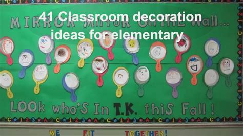 creative classroom decoration ideas  elementary