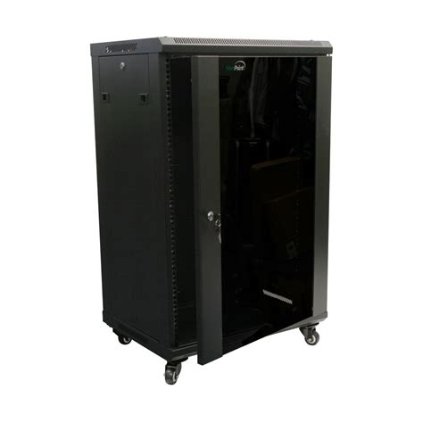 server rack cabinet 18u wall mount network server cabinet rack enclosure glass