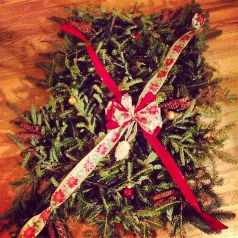 grave blanket homemade christmas decoration
