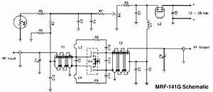 300 Watt Mosfet Broadband Amplifier Using Mrf141g