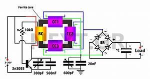 Free Energy Circuit Diagram