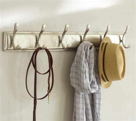 ella row of hooks pottery barn for the home pinterest