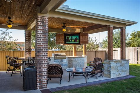 Covered Patio Ideas by Custom Outdoor Covered Patio Such A Unique Tongue