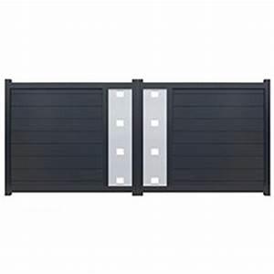Portail Alu 3m : portail alu battant 3m neovision oogarden france ~ Edinachiropracticcenter.com Idées de Décoration