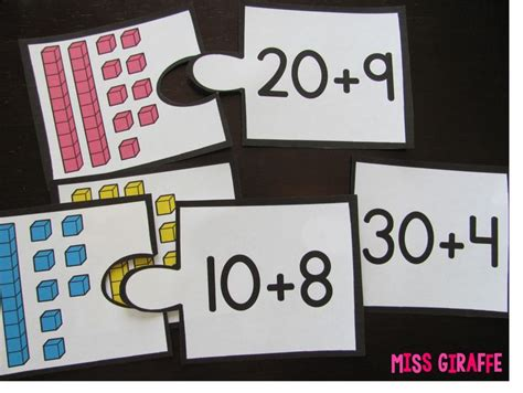 Place Value Puzzle Worksheets