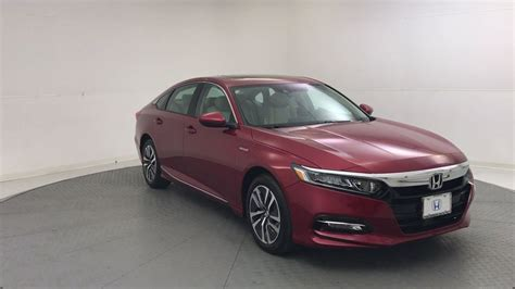 2019 New Honda Accord Hybrid Ex Sedan At Round Rock Honda