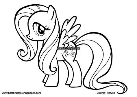 cute  pony   pony coloring pages big bang