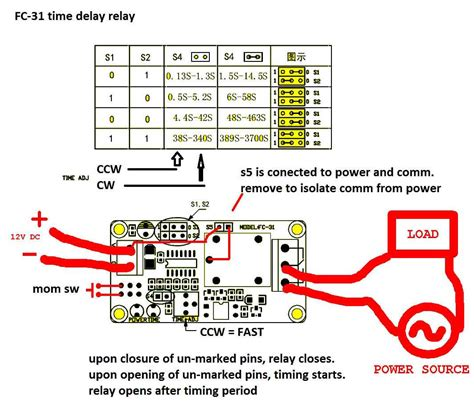 Timer How Wire This Delay Relay Switch Electrical