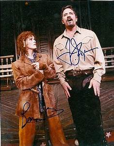 """Bernadette Peters and Tom Wopat in """"Annie Get Your Gun ..."""