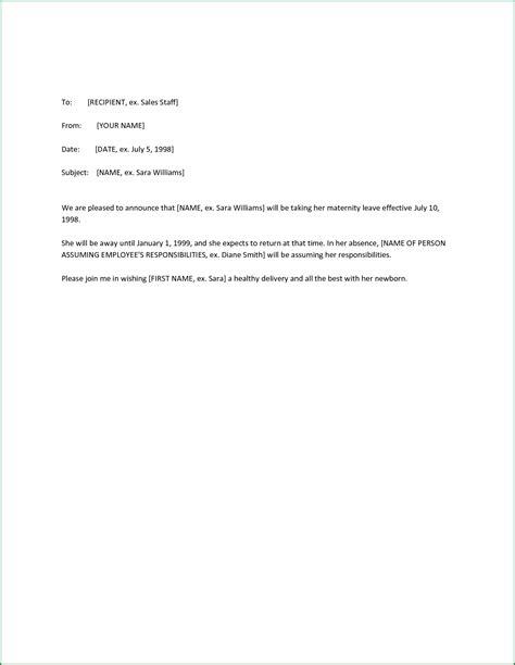 letter  employee leaving  original