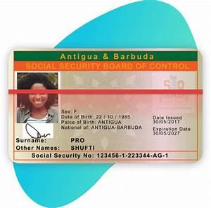 Bank Id Card Format Kyc For Antigua Barbud Shufti Pro