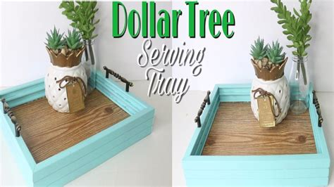 dollar tree diy faux wood tray dollar tree decor wooden