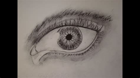 Como dibujar un ojo realista a lapiz YouTube