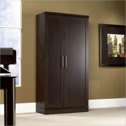 Sauder Homeplus Storage Cabinet Swing Out Door by Sauder Homeplus Dakota Oak Storage Cabinet Swing Out Doors