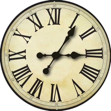 miniature printables clock face  clock face