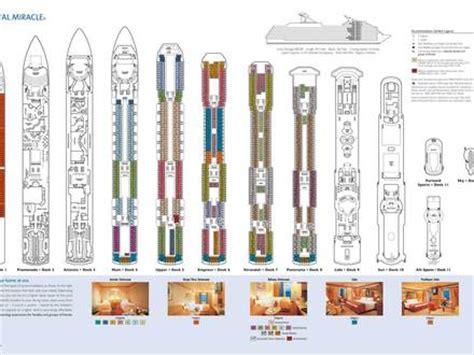 Carnival Valor Deck Plan 2014 by Summit Cruise Ship Decks Summit