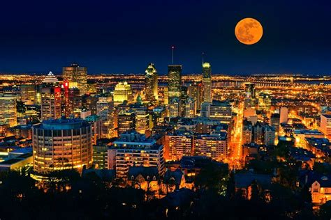 Fullmoon In Montreal Canada By 10 Most