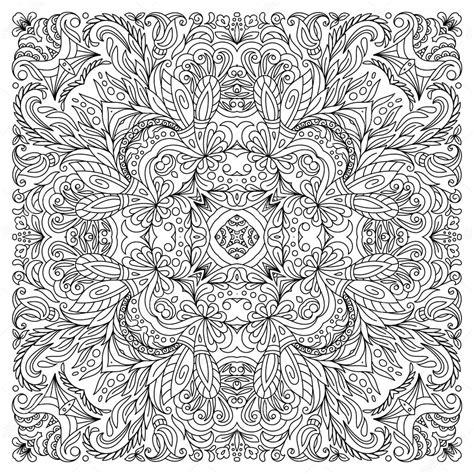 Vierkant Kleurplaat by Vierkante Fotoboekpagina Kleurplaten Voor Volwassenen
