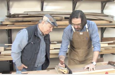 chuck brock  highland woodworker tv visits popular