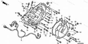 Honda Atv 2006 Oem Parts Diagram For Rear Crankcase Cover