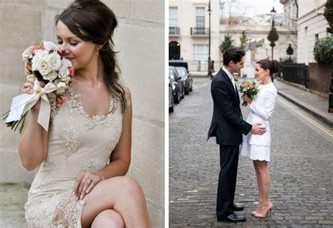 30 Super Chic Short Wedding Dresses