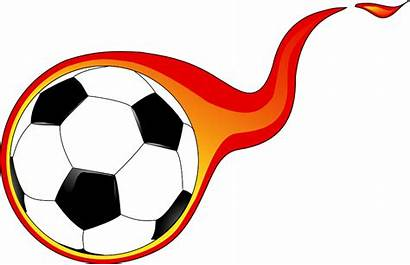 Flaming Ball Soccer Clip Onlinelabels