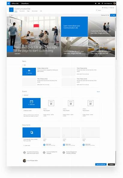 Communication Sharepoint Intranet Site Layout Web Designs