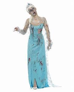 Warmes Halloween Kostüm : zombie eisprinzessin kost m f r halloween kaufen ~ Lizthompson.info Haus und Dekorationen