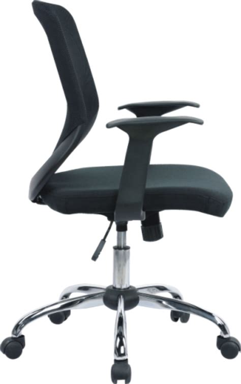 Novo Mesh Back Office Chair With Chrome Base