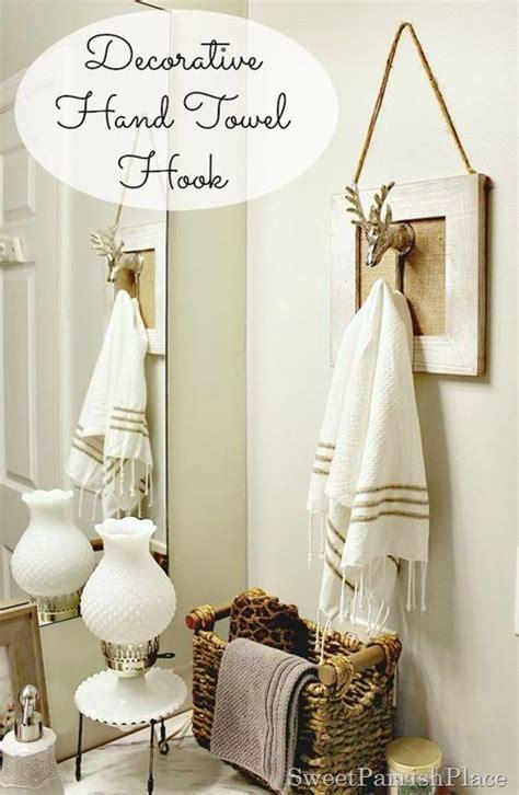 polished casual decorative hand towel holder