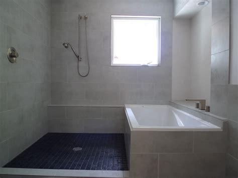 concrete  tile  modern bathroom brownstoner